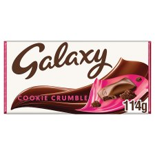 image 1 of Galaxy Cookie Crumble Chocolate Bar 114G