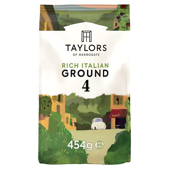 Taylors Of Harrogate Rich Italian Coffee 454G