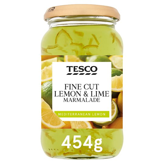 Tesco Fine Cut Lemon And Lime Marmalade 454G