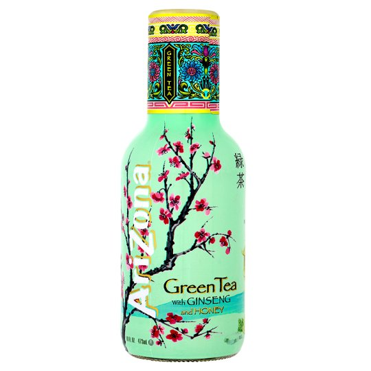 Arizona Green Tea And Honey Drink