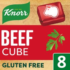 Knorr Beef Stock Cubes 8 X10g