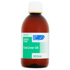 Tesco Cod Liver Oil 300Ml