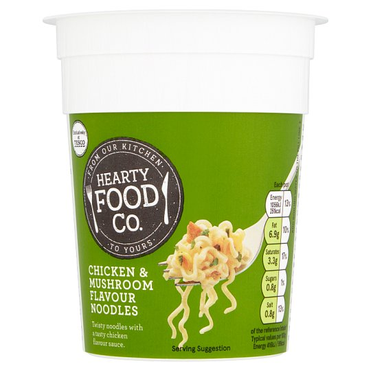 Hearty Food Co Chicken And Mushroom Noodle Pot 70G