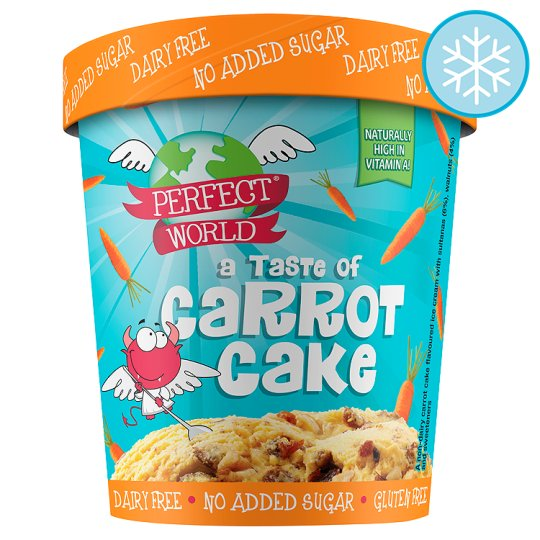 Perfect World Taste Of Carrot Cake Ice Cream 500ml