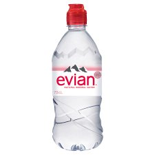 Evian Natural Mineral Water 750 Ml