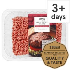 Tesco Beef Steak Mince 15% Fat 500G