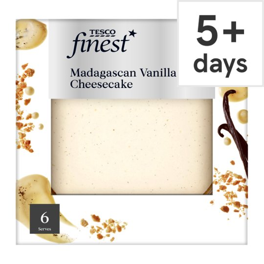 Tesco Finest Madagascan Vanilla Cheesecake 540G