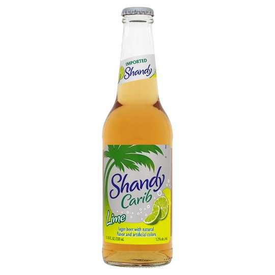 Shandy Carib Lager Beer Lime 330Ml