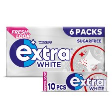 Wrigley's Extra White 6X10 Pieces 84G