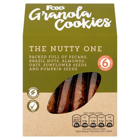 Fox's Granola Cookie Nutty 180G