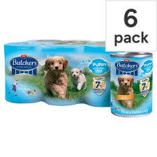 Butchers Variety Pack Puppy Food Trays 6 X400g