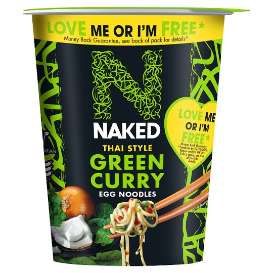 Naked Noodle Thai Green Curry Pot 78G