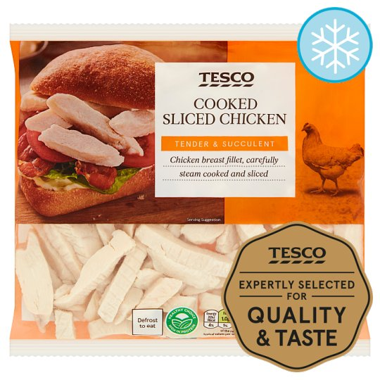 Tesco Cooked Sliced Chicken 340G