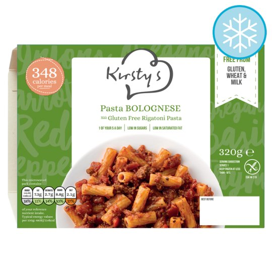 Kirstys Free From Pasta Bolognese 320G