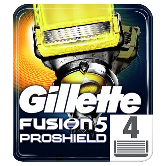 image 1 of Gillette Fusion Proshield Razor Blades 4 Pack