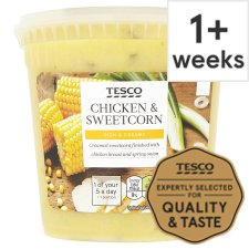 Tesco Chicken And Sweetcorn Soup 600 G