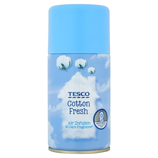 Tesco Automatic Refill 250Ml Cotton