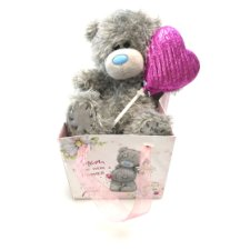 Me To You Bear In Bag With Chocolate