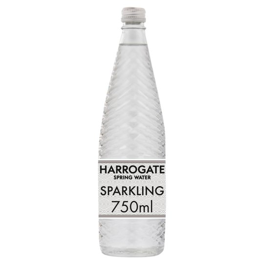 Available From Your Harrogate: Harrogate Sparkling Spring Water 750Ml