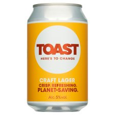 Toast Ale Craft Lager 330Ml