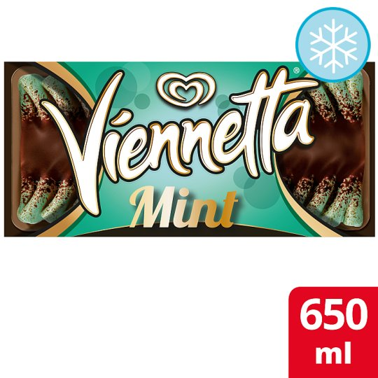 Viennetta Mint Ice Cream Dessert 650Ml