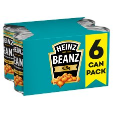 Heinz Baked Beans In Tomato Sauce 6 X 415G