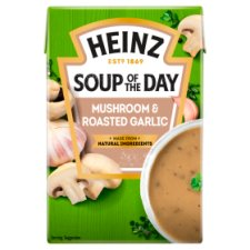 Heinz Soup Of The Day Mushroom And Roasted Garlic 400G