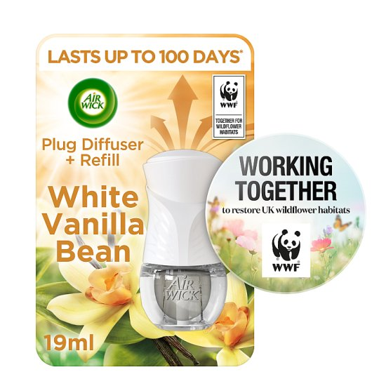 Airwick Electric Starter Kit White Vanilla Bean