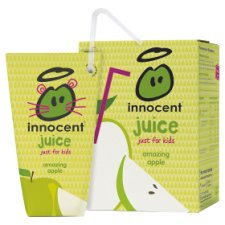 Innocent Kids Apple Juice 4 X 180 Ml