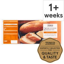 Tesco Homebake Baguettes 2 Pack
