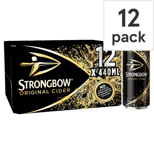 Strongbow Cider 12X440ml