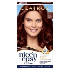 Clairol Nice 'N Easy Medium Mahogany Brown 5M Hair Dye
