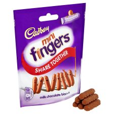 Cadbury Mini Fingers Pouch 125G