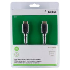 Belkin Hdmicable Ethernet Gold Plated Black 5M