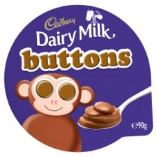 Cadbury Dairy Milk Buttons Chocolate Dessert 90G