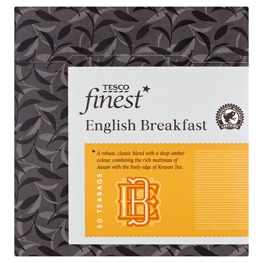 Tesco Finest English Breakfast 50 Teabags 125G