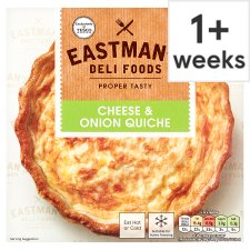 Eastmans Cheese And Onion Quiche 400G