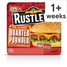 Rustlers Quarter Pounder Cheese Burger 190 G