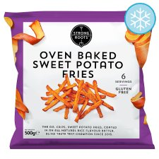 Strong Roots Oven Baked Sweet Potato Fries 500G