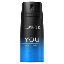 Lynx You Body Spray Refreshed Deodorant 150Ml