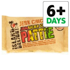 Island Delight Jerk Chicken Pattie 140G