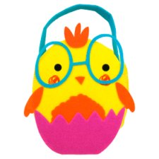 Tesco Easter Chick Felt Bag