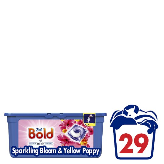 Bold 2 In 1 Pearls Sparkling Bloom And Yellow Poppy 29Wsh
