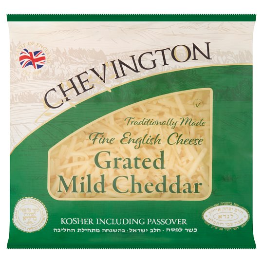 Chevington Grated Mild Cheddar Cheese 400G