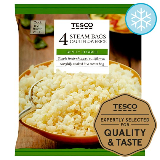 Tesco Cauliflower Rice 4 Pack 600G