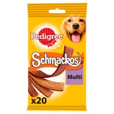 Pedigree Meat Schmackos Dog Treats 20 Strips