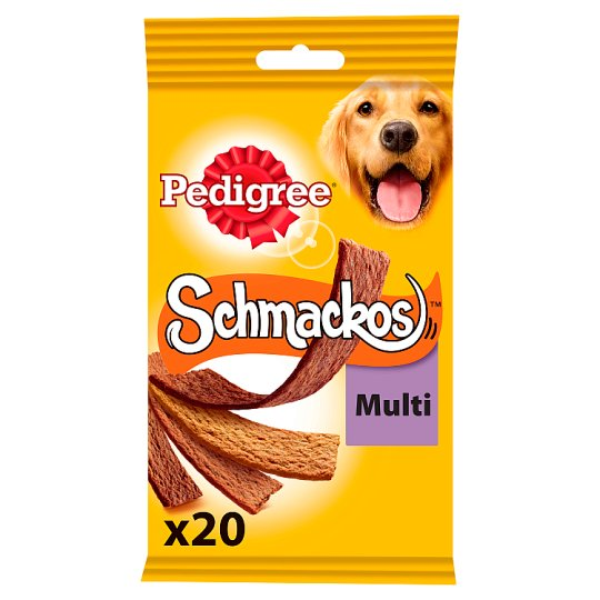 Pedigree Schmackos 4 Meat Variety 20 Stick 172G