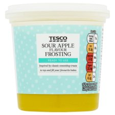 Tesco Sour Apple Flavour Frosting 400G