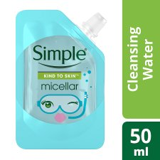 Simple Mini Micellar Cleansing Water 50Ml