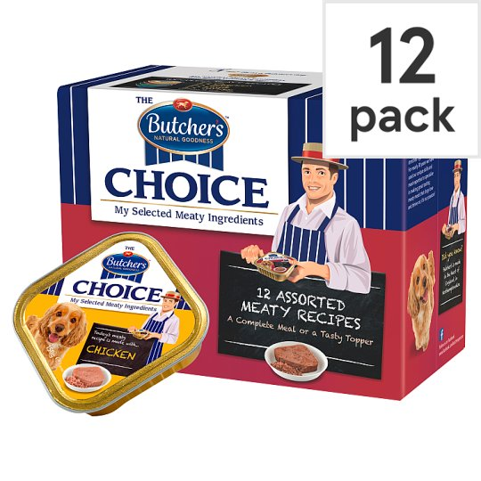 Butchers Choice Succulent Meat Variety Pack 12X150